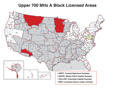 Access Spectrum Targets CII Firms With 700 MHz A Block
